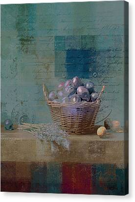 Campagnard - Rustic Still Life - J085079161f Canvas Print by Variance Collections
