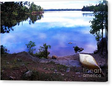 Campsite Serenity Canvas Print by Thomas R Fletcher