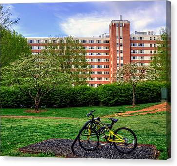 Campus Transportation Canvas Print by Greg Mimbs