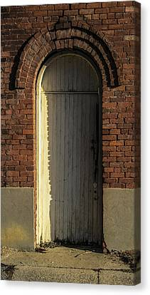 Can I Come In  Canvas Print by Steven  Taylor