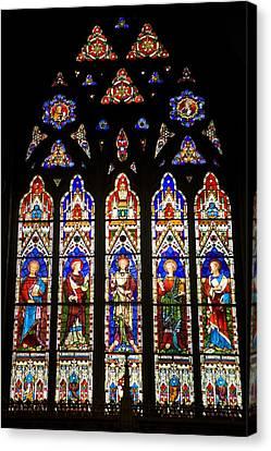 Canada. Montreal. Christ Church Canvas Print by Everett