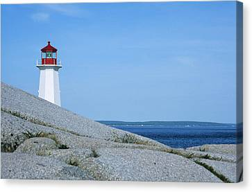 Canada, Nova Scotia, Early Morning Canvas Print by Ann Collins