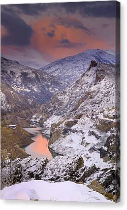 Canales Canvas Print by Guido Montanes Castillo
