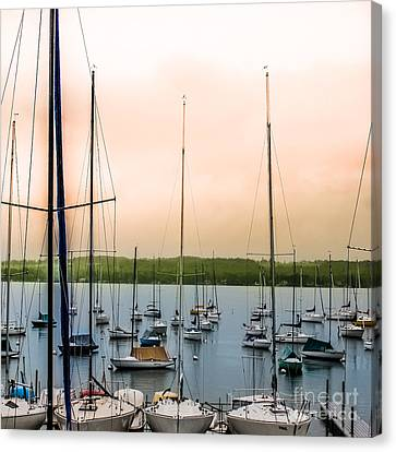Canandaigua Lake Canvas Print by Ken Marsh