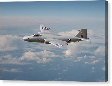 Canberra Pr9 - ' Up Where She Belongs' Canvas Print by Pat Speirs