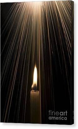 Candle Light Canvas Print by Tim Gainey