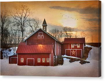 Candleglow Canvas Print by Lori Deiter