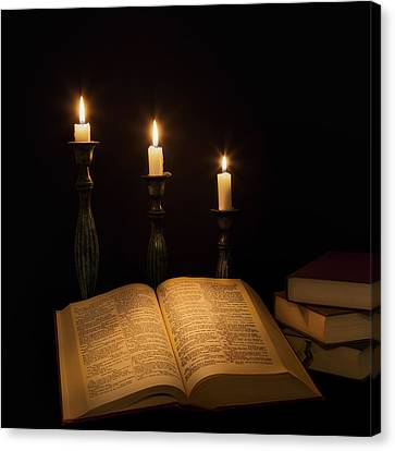 Candlelight  Canvas Print by Bill Wakeley