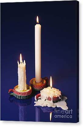 Candles Canvas Print by Martyn F. Chillmaid
