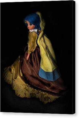 Candy Candy Girl With A Pearl Earring Canvas Print by Donatella Muggianu