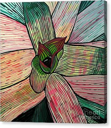 Candy Canvas Print by Sandra Marie Adams