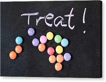 Candy Treat Canvas Print by Tom Gowanlock