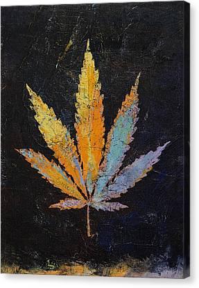 Cannabis Canvas Print by Michael Creese