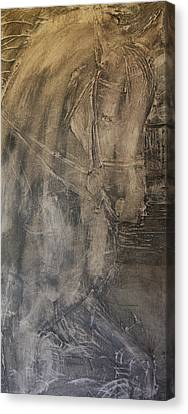 Canter Pirouette II  Canvas Print by Adrian McMillan