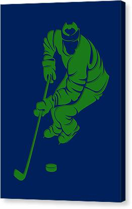 Canucks Shadow Player3 Canvas Print by Joe Hamilton