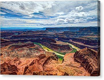 Canyon Country Canvas Print by Chad Dutson