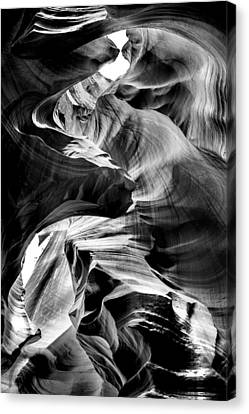 Canyon Flow Canvas Print by Az Jackson