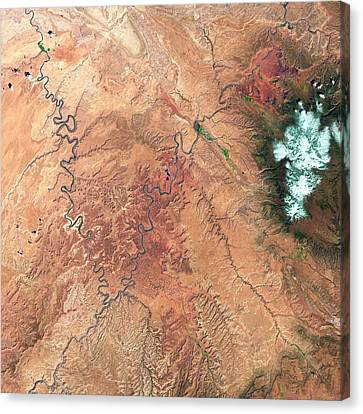 Canyonlands Canvas Print by Us Geological Survey