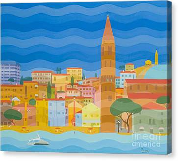Caorle Canvas Print by Emil Parrag