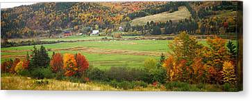 Cape Breton Highlands Near North East Canvas Print by Panoramic Images