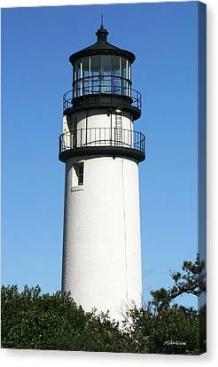 Cape Cod Highland Lighthouse Canvas Print by Michelle Wiarda