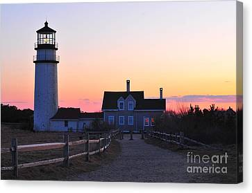 Cape Cod Light Canvas Print by Catherine Reusch  Daley