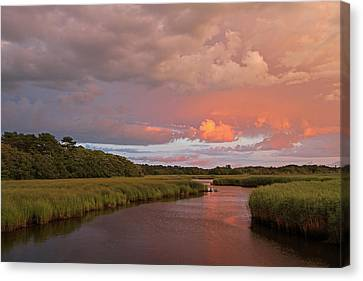 Cape Cod Summer Storm Canvas Print by Juergen Roth