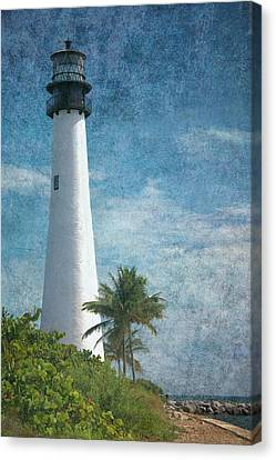 Cape Florida Lighthouse 2 Canvas Print by Rudy Umans