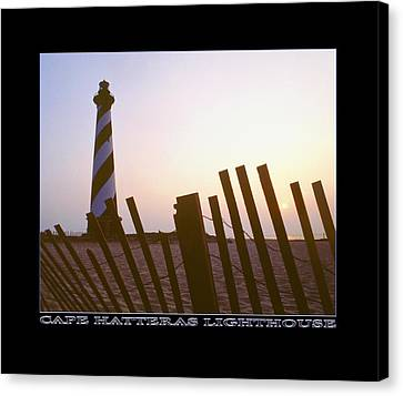 Cape Hatteras Lighthouse Canvas Print by Mike McGlothlen