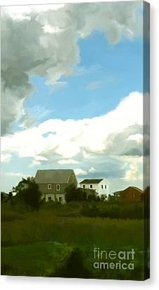 Cape House Canvas Print by Paul Tagliamonte