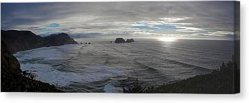Cape Mears Storms Canvas Print by Mike Reid