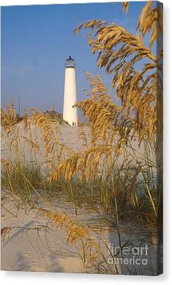 Cape St. George Lighthouse, Fl Canvas Print by Bruce Roberts