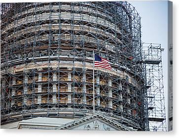 Capitol Building Canvas Print by Jim West