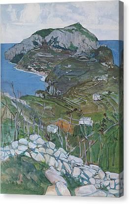 Capri, C.1904 Canvas Print by Maurice Greiffenhagen