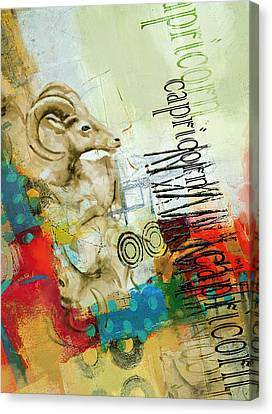 Capricorn Star Canvas Print by Corporate Art Task Force