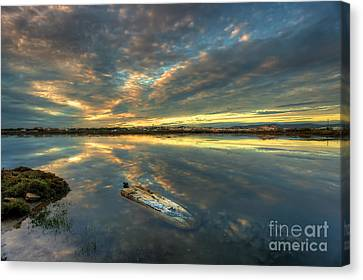 Capsized Canvas Print by English Landscapes
