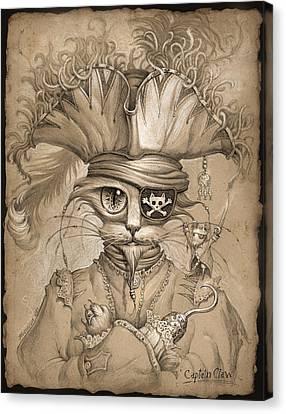 Captain Claw Canvas Print by Jeff Haynie