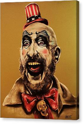 Captain Spalding Canvas Print by Brent Andrew Doty