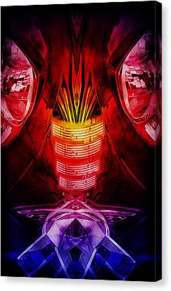 Car Abstract Canvas Print by Nathan Wright