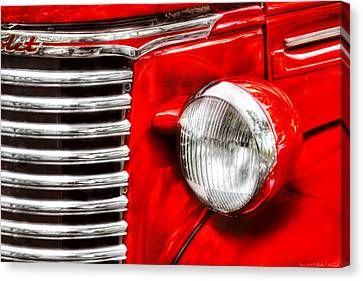 Car - Chevrolet Canvas Print by Mike Savad