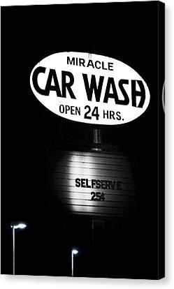 Car Wash Canvas Print by Tom Mc Nemar