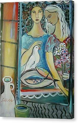 Caravan Of Dream Canvas Print by Marlene LAbbe