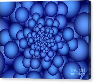 Carbonation Canvas Print by TJ Art