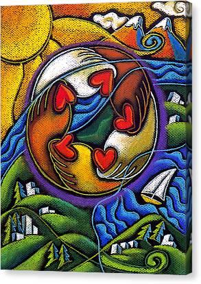 Care Canvas Print by Leon Zernitsky