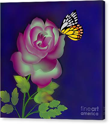 Careless Whisper Canvas Print by Latha Gokuldas Panicker