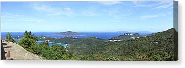 Caribbean Cruise - St Thomas - 121210 Canvas Print by DC Photographer