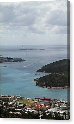 Caribbean Cruise - St Thomas - 1212204 Canvas Print by DC Photographer