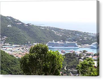 Caribbean Cruise - St Thomas - 1212270 Canvas Print by DC Photographer