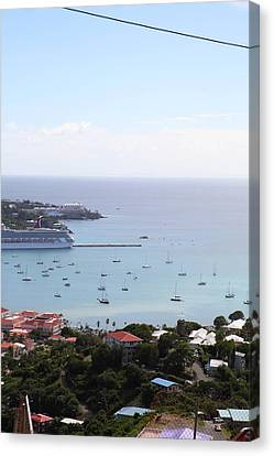 Caribbean Cruise - St Thomas - 1212283 Canvas Print by DC Photographer