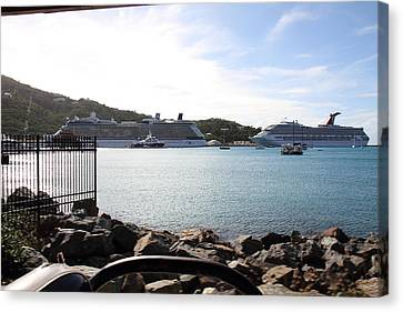 Caribbean Cruise - St Thomas - 121229 Canvas Print by DC Photographer